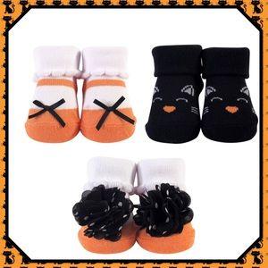🎃New🎃3 Piece Sock Gift Set - Cat🎃